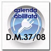 Logo azienda abilitata DM 37-08