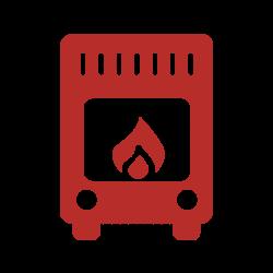 Logo stufa a legna